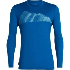 Icebreaker TECH LITE LS CREWE REMARKABLES - Men's functional T-shirt