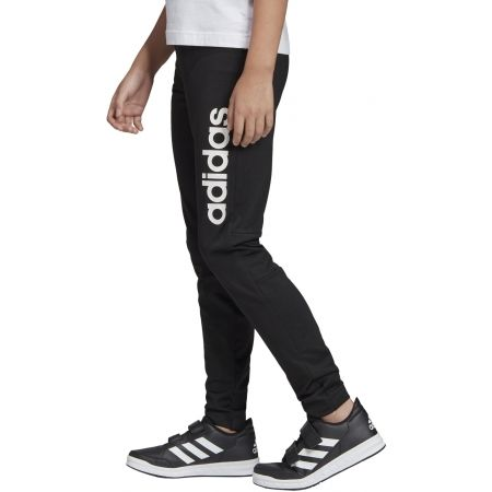 Girls' sports pants - adidas LINEAR LONG TIGHT - 5