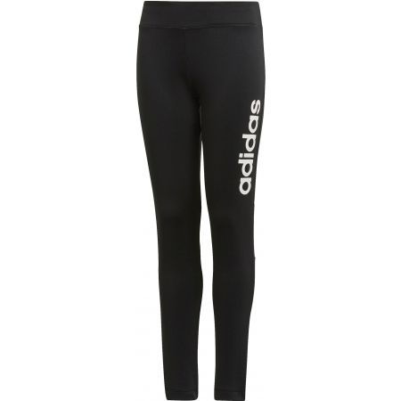 Girls' sports pants - adidas LINEAR LONG TIGHT - 1