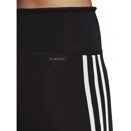 Damen Leggings - adidas D2M HR 34 3 STRIPES - 8