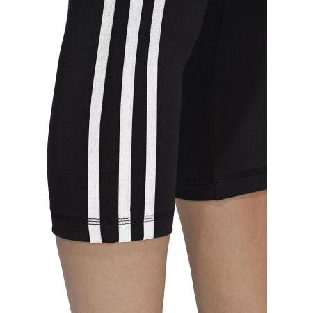 Damen Leggings - adidas D2M HR 34 3 STRIPES - 9