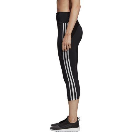 Damen Leggings - adidas D2M HR 34 3 STRIPES - 4