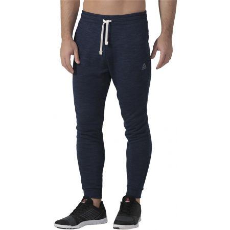Men's pants - Reebok MARBLE MELANGE JOGGER - 4