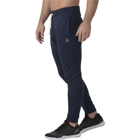 Men's pants - Reebok MARBLE MELANGE JOGGER - 5