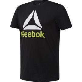 Reebok QQR - STACKED - Pánske tričko