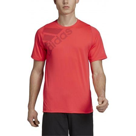 Pánske športové tričko - adidas FREELIFT BADGE OF SPORT GRAPHIC - 3