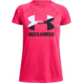 Under Armour BIG LOGO TEE SOLID - Dívčí tričko