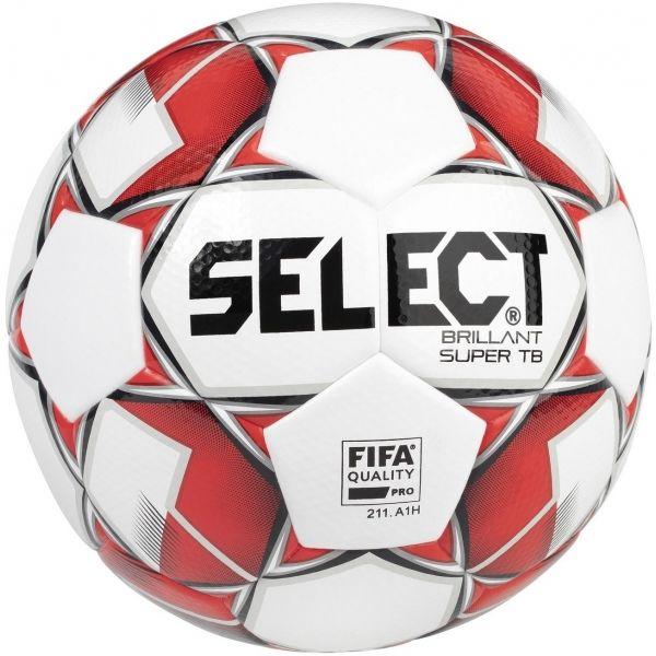 Select BRILLANT SUPER biela 5 - Futbalová lopta