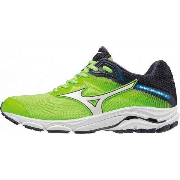 Mizuno WAVE INSPIRE 15 zielony 9 - Buty do biegania męskie