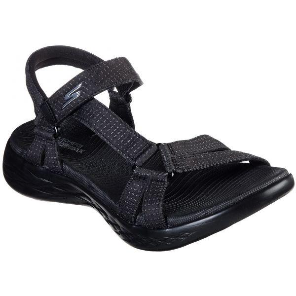Skechers ON-THE-GO 600 BRILLIANCY černá 36 - Dámské sandály