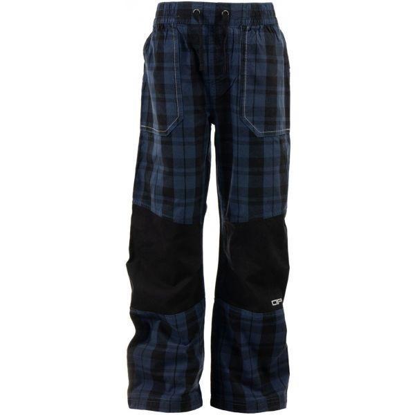 ALPINE PRO RAFIKO 3 modrá 152-158 - Chlapecké outdoorové kalhoty
