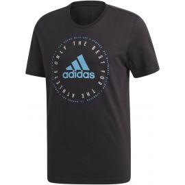 adidas MH EMBLEM T - Pánské triko