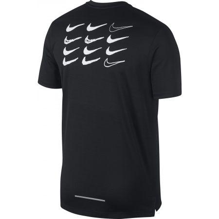 Men's sports T-shirt - Nike DRY MILER TOP SS GX HBR - 2