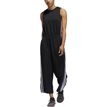 Dámsky overal - adidas OVERAL CROPPED LEG SNAP - 3
