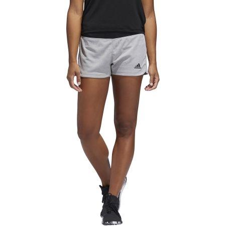 Women's sports shorts - adidas 2IN1 SOFT SHRT - 3