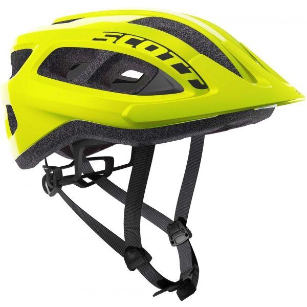 Scott SUPRA žlutá (54 - 61) - Cyklistická helma