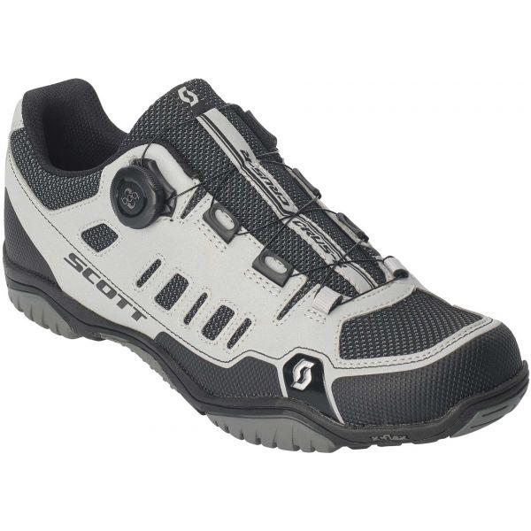 Scott SPORT CRUS-R BOA REFLECTIVE  44 - Pánská cyklistická obuv MTB