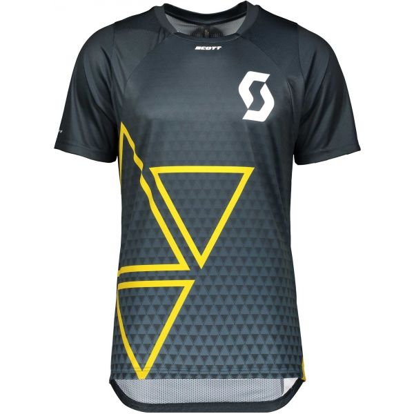 Scott TRAIL VERTIC S/SL modrá XXL - Pánské triko