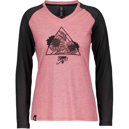 Scott TRAIL FLOW RAGLAN S/SL W - Дамска тениска