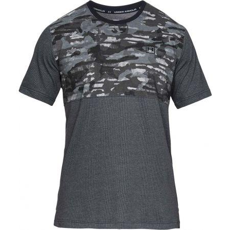 Men's T-shirt - Under Armour SPORTSTYLE COTTON MESH TEE - 1