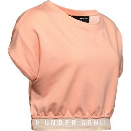 8a8c2997a2 Under Armour FEATHERWEIGHT FLEECE CROP TOP