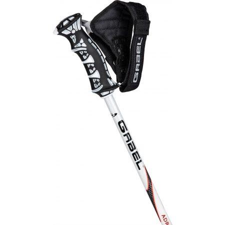 Men's downhill ski poles - Gabel ADRENALINE CLICK - 2