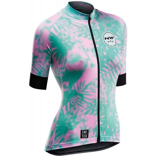 0019be36574e Northwave LEAVES - Dámsky cyklistický dres