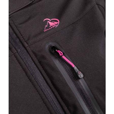 Dámská softshellová bunda - Willard AGNESA - 4