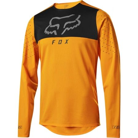 Tricou de ciclism bărbați - Fox Sports & Clothing FLEXAIR DELTA LS - 1