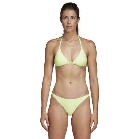 Dámske plavky - adidas SOLID TRIANGLE BIKINI - 4