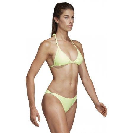 Dámske plavky - adidas SOLID TRIANGLE BIKINI - 6