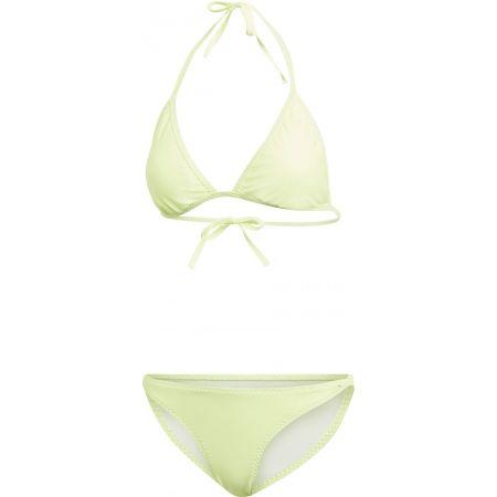 Dámske plavky - adidas SOLID TRIANGLE BIKINI - 1