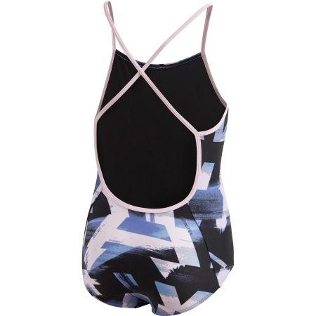 Dívčí jednodílné plavky - adidas ALLOVER PRINT SWIMSUIT GIRLS - 2