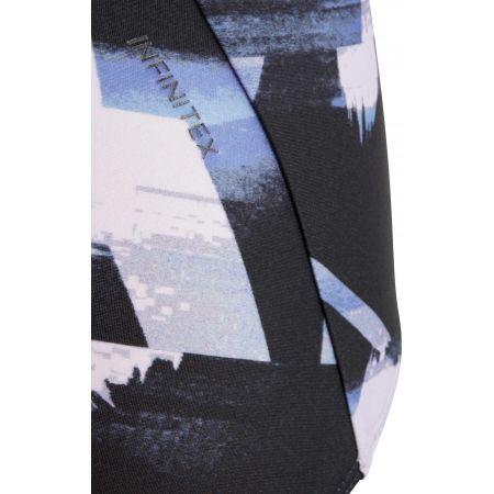 Dívčí jednodílné plavky - adidas ALLOVER PRINT SWIMSUIT GIRLS - 4