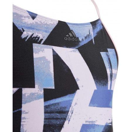 Dívčí jednodílné plavky - adidas ALLOVER PRINT SWIMSUIT GIRLS - 3