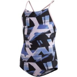 adidas ALLOVER PRINT SWIMSUIT GIRLS - Girls' one-piece swimsuit