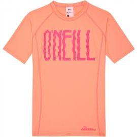 O'Neill PG LOGO SHORT SLEEVE SKINS - Dievčenské tričko s UV filtrom