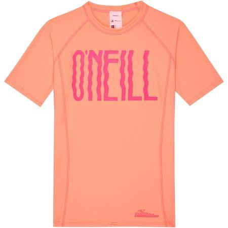 O'Neill PG LOGO SHORT SLEEVE SKINS - Girls' T-shirt with UV filter