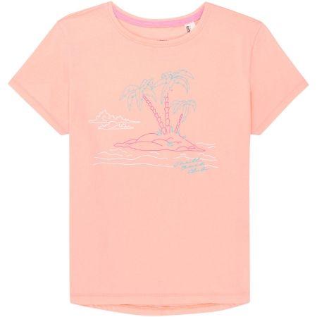 Dievčenské tričko - O'Neill LG S/SLV ISLAND T-SHIRT - 1