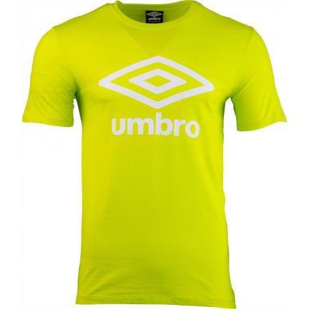 Pánské triko - Umbro FW LARGE COTTON LOGO TEE - 2