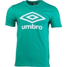 Umbro FW LARGE COTTON LOGO TEE - Pánske tričko