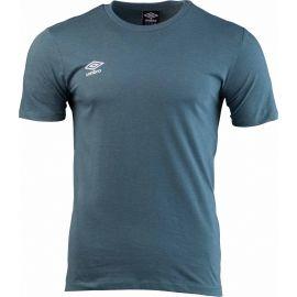 Umbro FW SMALL LOGO COTTON TEE - Pánske tričko