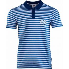 Umbro STRIPE COTTON POLO - Pánské polo triko
