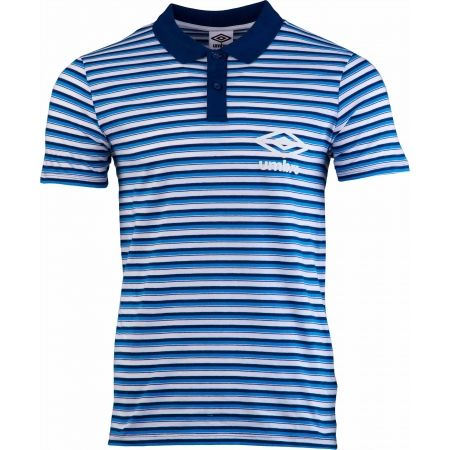 Pánské polo triko - Umbro STRIPE COTTON POLO - 1