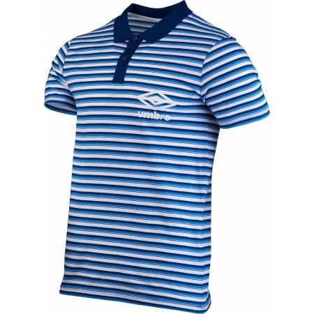 Pánské polo triko - Umbro STRIPE COTTON POLO - 2