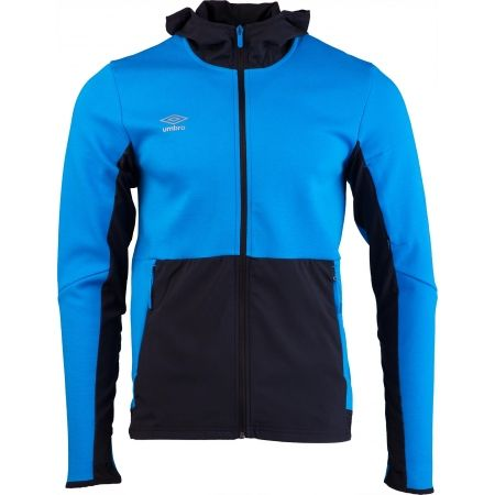 Umbro PRO FLEECE TRAINING HOODED JACKET - Férfi sportfelső