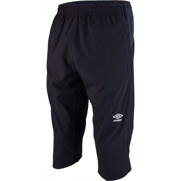 Umbro SILO TRAINING 3/4PANT čierna S - Pánske trojštvrťové nohavice