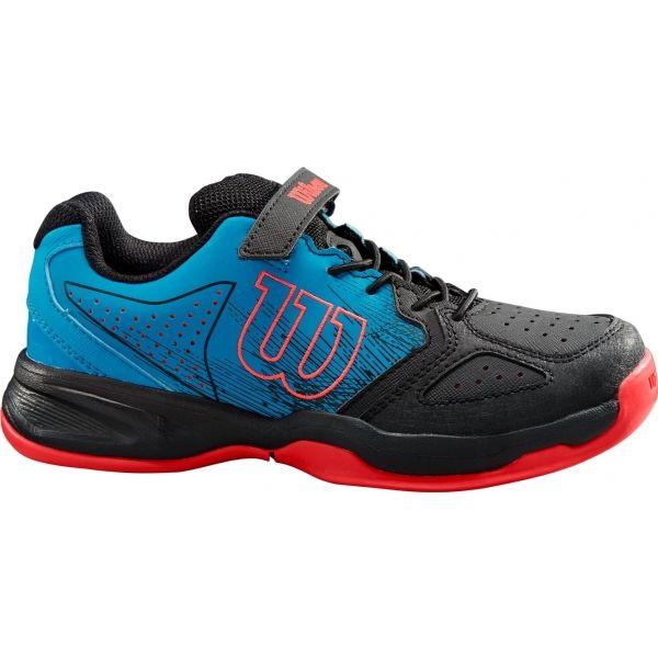 Wilson KAOS K růžová 12.5 - Juniorská tenisová obuv