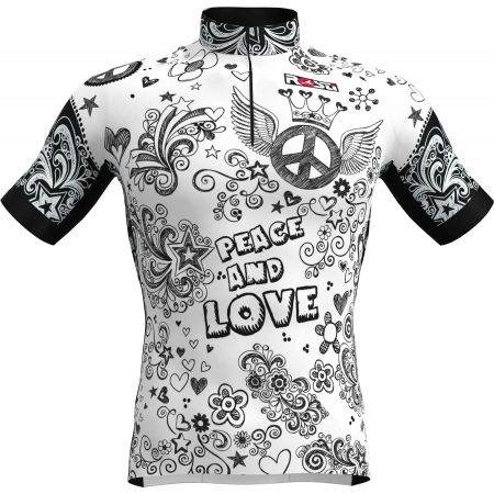 Rosti PEACE AND LOVE - Men's cycling jersey