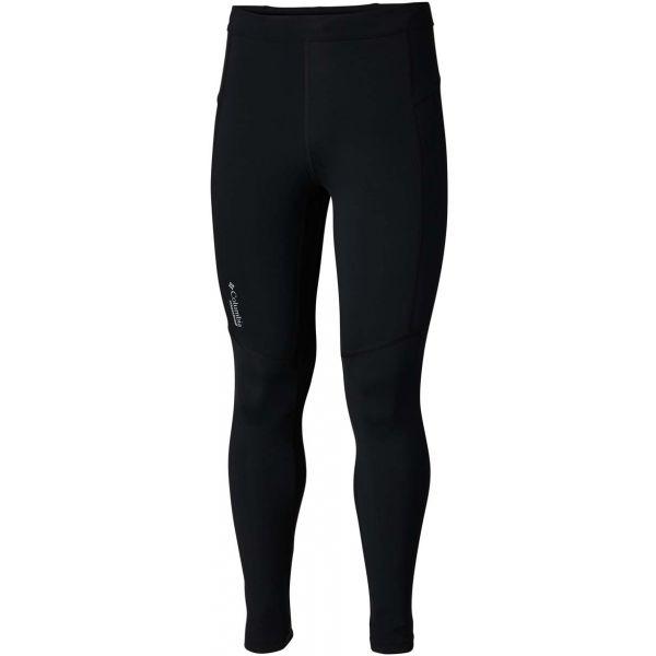 Columbia BAJADA II ANKLE TIGHT M czarny S - Spodnie elastyczne męskie
